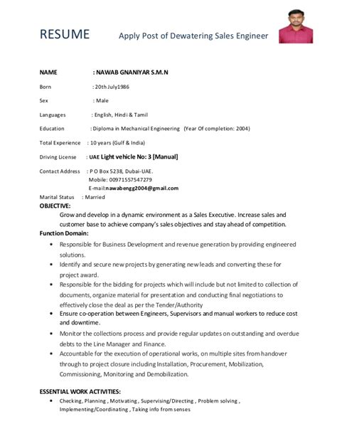 Post Resume For In Dubai by Updated Dewatering Engineer