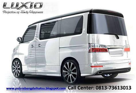 Daihatsu Luxio Modification by Pt Astra International Tbk Daihatsu Palembang Daihatsu