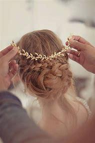 Wedding tiara, Bridal headpiece, gold leaf head…