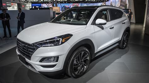 2019 Hyundai Tucson Refresh Revealed At New York Auto Show