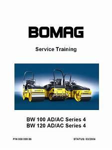 Bomag Bw 100  120 Ad    Ac Series 4 Service Training Pdf