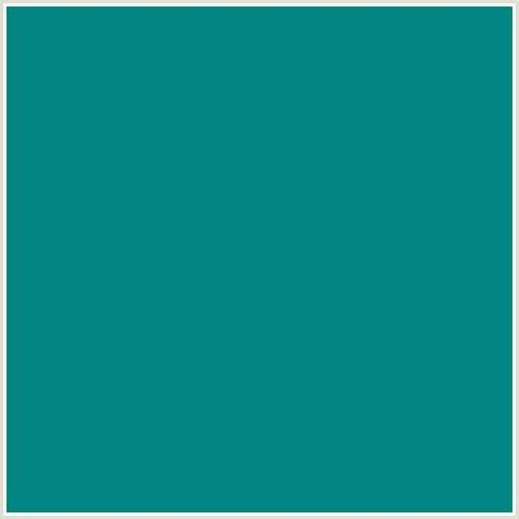 teal green 028482 hex color on colorcombos com with rgb values of 2
