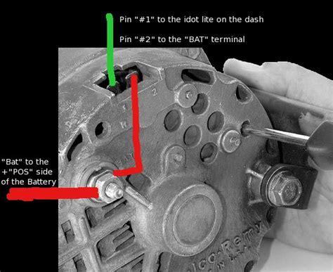 Camaro Alternator With Internal Reg There Two