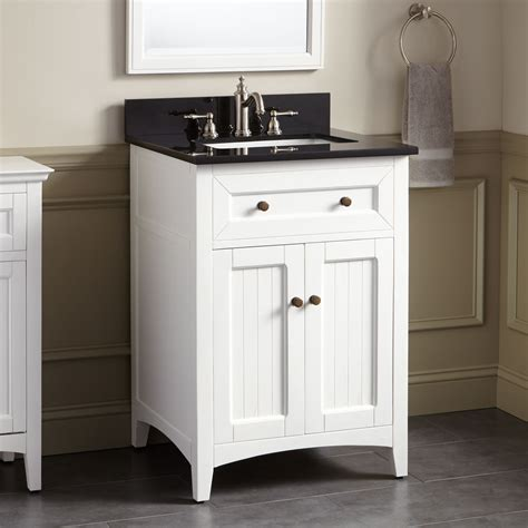halifax vanity  rectangular undermount sink white