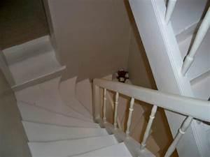 Escalier Bois Blanc : escalier 2 photos caro02 ~ Melissatoandfro.com Idées de Décoration