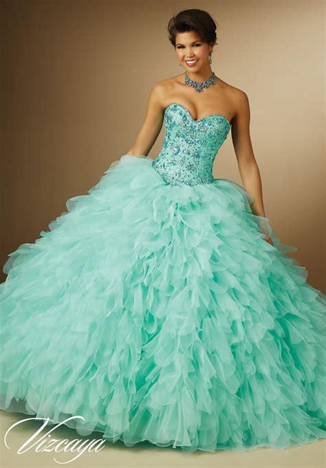 vestidos de quincea 241 era color aqua de mori vestidos