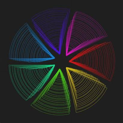Illusion Optical Giphy Loop Perfect Cool Rainbow