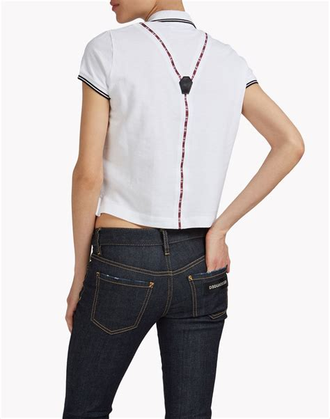 Suspender Polos dsquared2 suspender polo shirt polo shirts