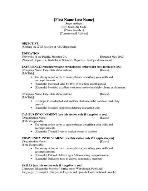 Resume Power Verbs by Resume Power Verbs Resume Badak