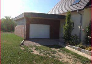 Construire Un Carport : construire un carport adoss best of garage bois toit plat ~ Premium-room.com Idées de Décoration