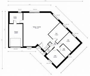 construction maison plain pied avec habitat concept With plan gratuit de maison 15 plan daccas et contact