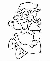 Doll Coloring Pages Printable Rag Pre Baby Colouring Cartoon Sheets Dolls Sheet Kindergarten Coloring4free 2021 Lol Honkingdonkey Barbie Ugly Activities sketch template