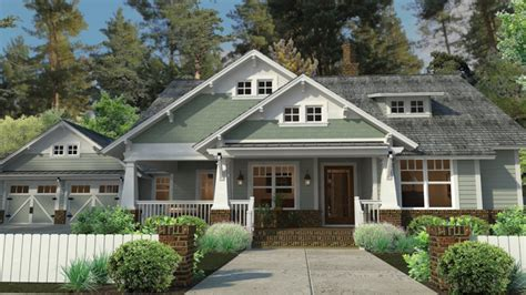 craftsman style house plans  porches craftsman house