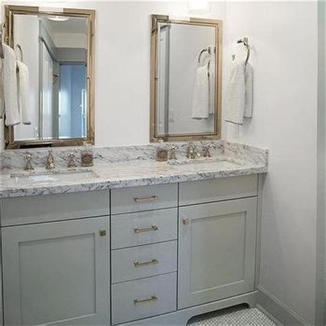 bathrooms white cabinets gray granite countertops design ideas
