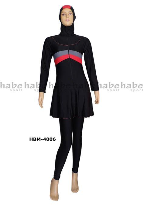 Baju Renang Wanita Dewasa Online Baju Renang Muslimah Dewasa Hbm 4006 Distributor Dan