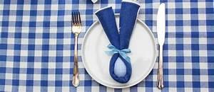 Pliage Serviette Lapin Simple : pliage de serviettes oreilles de lapin p ques ~ Melissatoandfro.com Idées de Décoration