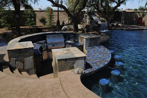 Patios, BBQ Island, Firepit Backyard Options Backyard ...