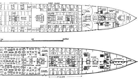 Titanic B Deck Plans by Titanic Plans