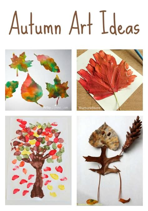 autumn ideas fall activities leaf crafts for 621 | a537b49f4484e3001aed71e8bb65632f