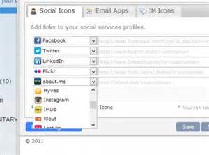 Email Signature Social Media Icons