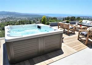 Spa Bois Exterieur : implantation spa ext rieur m diterran en terrasse en ~ Premium-room.com Idées de Décoration