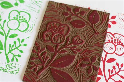 atelier deco recup serigraphie et creation de tons par linogravure stage atelier
