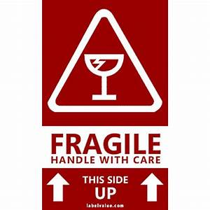 Handle with Care Labels - Free Shipping