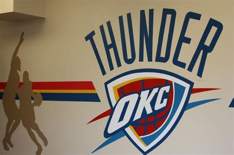 And The Thunder Rolls. Party On In Our Okc Thunder Room