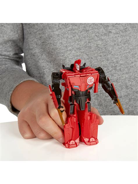 Transformers Sideswipe One Step Changer Action Figure at ...