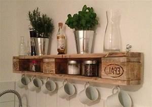 Küche Aus Paletten : regal aus paletten 51 budget freundliche diy ideen diy m bel zenideen ~ Eleganceandgraceweddings.com Haus und Dekorationen