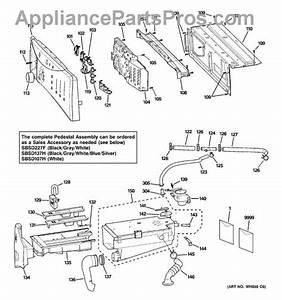 Parts For Ge Wcvh6600h1ms  Controls  U0026 Dispenser Parts