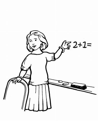 Coloring Pages Teacher Community Clipart Teaching Helpers