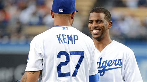 clippers guard chris paul wasnt surprised dodgers fans