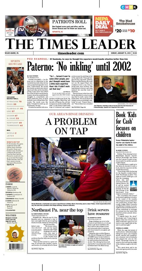 ISSUU - Times Leader 01-15-2012 by The Wilkes-Barre