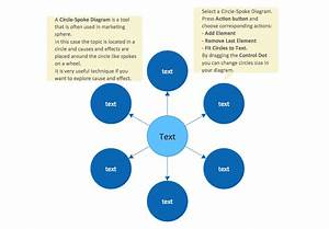 Circle Spoke Diagram Template