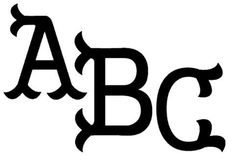 fishtail monogram font