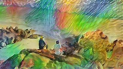 Oil Animated Paintings Vimeo Gifs Into Computer