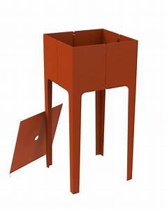 Table Chevet Grise : mati re grise mobilier design metal disponible sur ~ Teatrodelosmanantiales.com Idées de Décoration