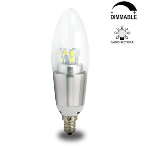 7 watt dimmable b35 led candelabra light bulbs e12 candle