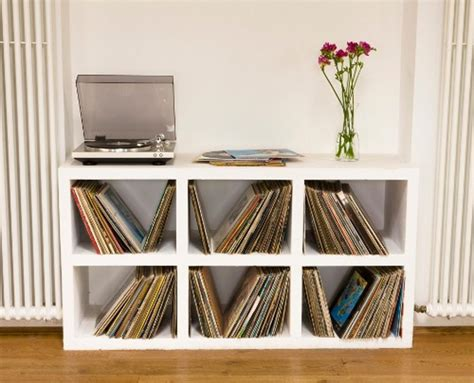 vinyl record shelf melody memoirs 9 creative vinyl record storage ideas you 3286