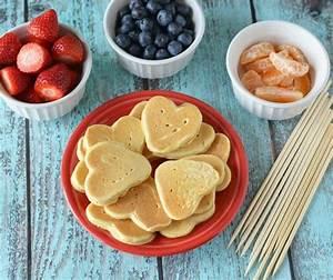Valentine's Day Cupid Arrow Pancake Kabobs - This Ole Mom