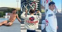 東京奧運 英國跳水王子 Tom Daley 是一名編織好手!他為紀念東京奧運,製作了一件紀念針織外套? – Vogue Hong ...