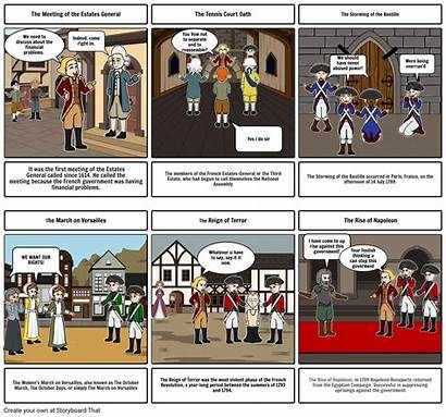 Storyboard French Revolution Project Storyboards Windows
