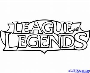 How to Draw League of Legends, League of Legends, Step by ...