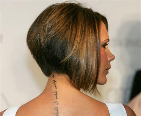 Victoria Beckham Bob Haircut Photos