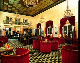 Le Decorative by Art Deco Interior Design With Red Seats And Cool Ceiling A