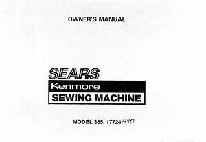 Sears 385 17724 Users Manual