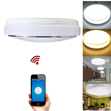 Led Lights For Room Controlled By Phone by New Modern15w Led Ceiling Light With Wifi Phone App