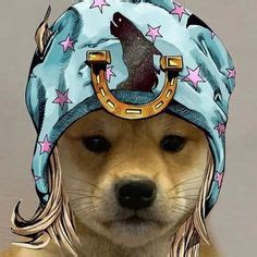 Cheems is a variation of the swole doge vs. dog with hat jojo - risotto in 2020   Jojo's bizarre ...
