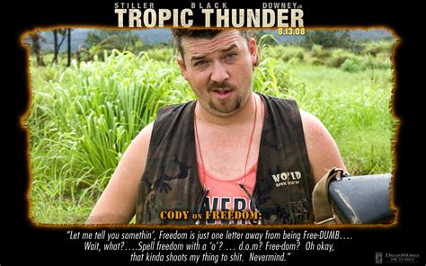 Tropic Thunder Meme - simple jack tropic thunder quotes quotesgram